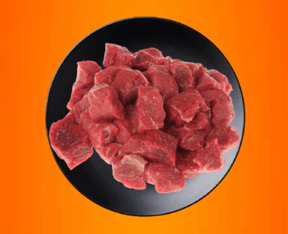 Beef prime boneless zero fat