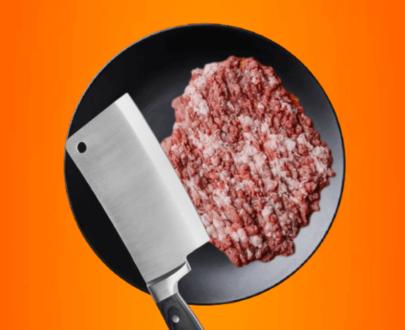 hand chopped beef qeema/mince